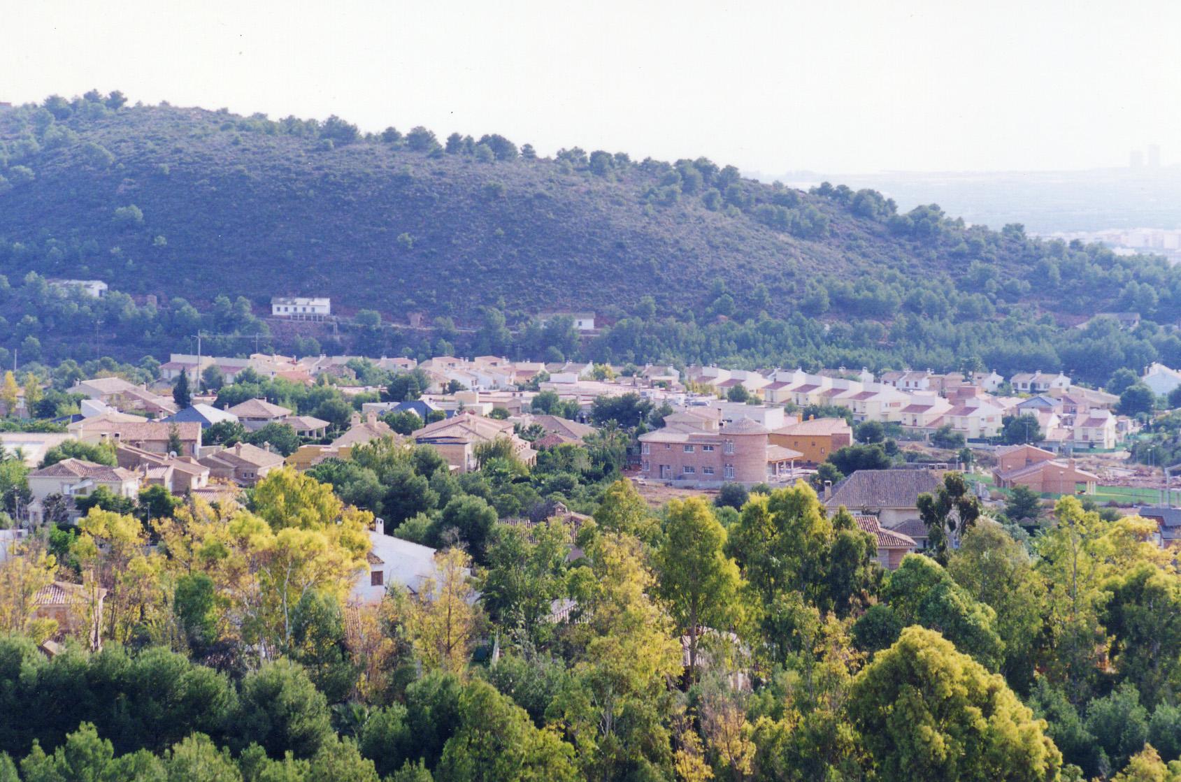 Urbanización Alfinach<br>Estacionamientos de vehículos