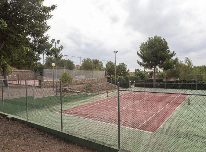 Club Social Alfinach<br>Pistas deportivas