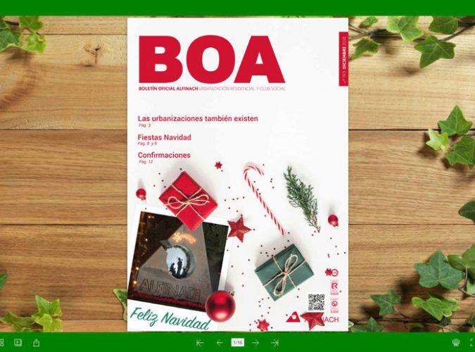 Nuevo B.O.A – nº193<br>Diciembre 2018