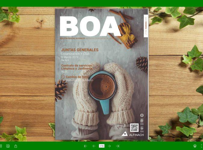 Nuevo B.O.A – nº194<br>Febrero 2019