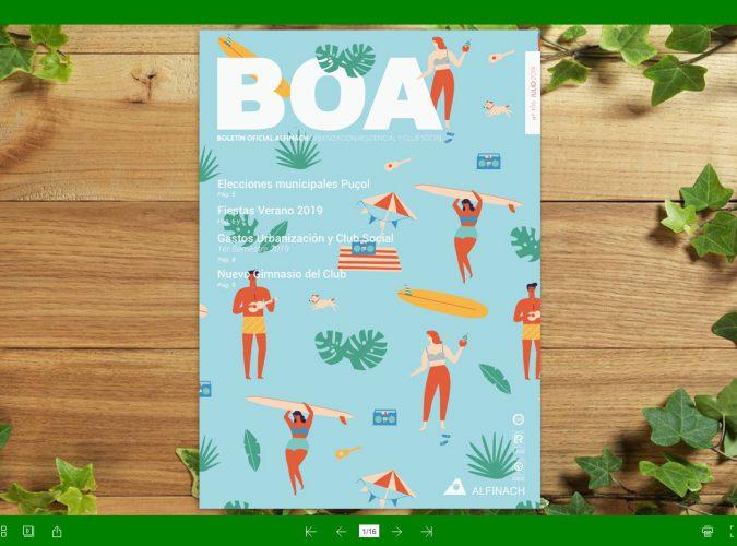 Nuevo B.O.A – nº196<br>Julio 2019