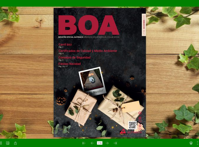 Nuevo B.O.A – nº198<br>Diciembre 2019