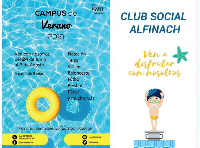Campus Club Social Alfinach<br>Campus de Verano y Peques